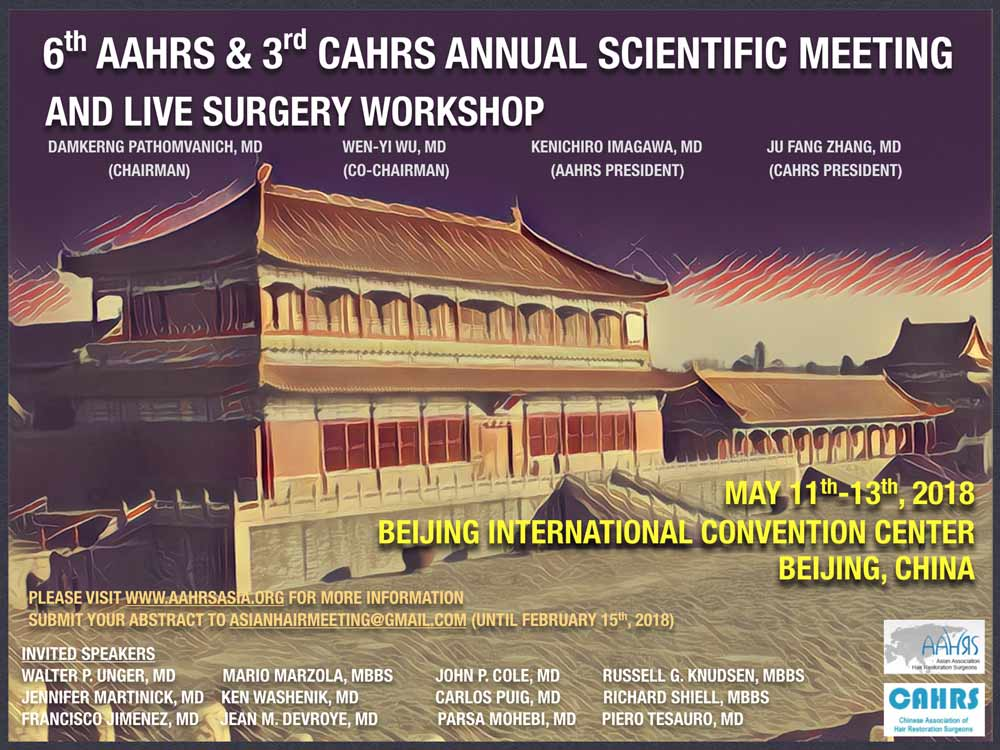 6 congresso scientifico cina calvizie