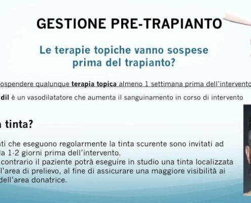 Diapositiva06 gestione pre-post trapianto capelli