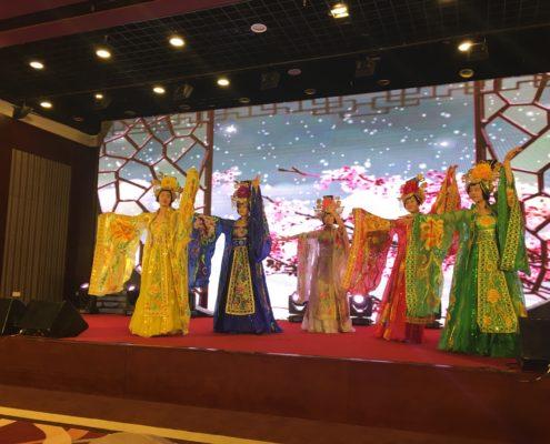 Pechino congresso spettacolo