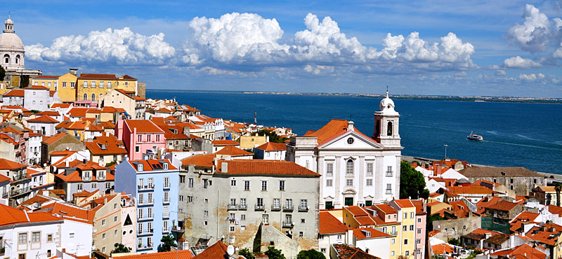 Lisbona panorama