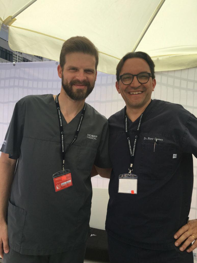 Dottor Tesauro con Dott. Markus Horacek