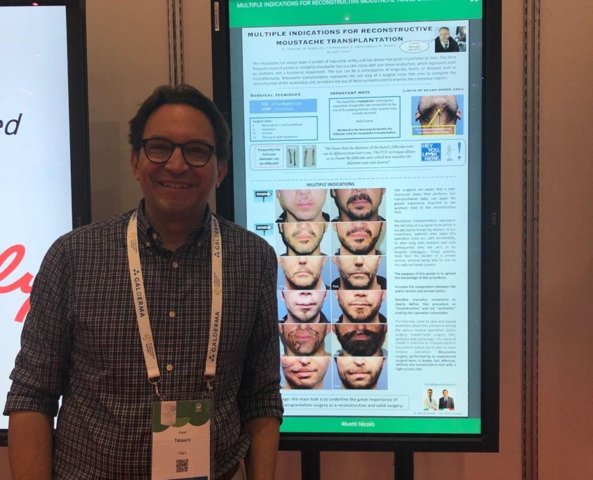 Dottor Tesauro al Congresso Mondiale di Dermatologia, Milano