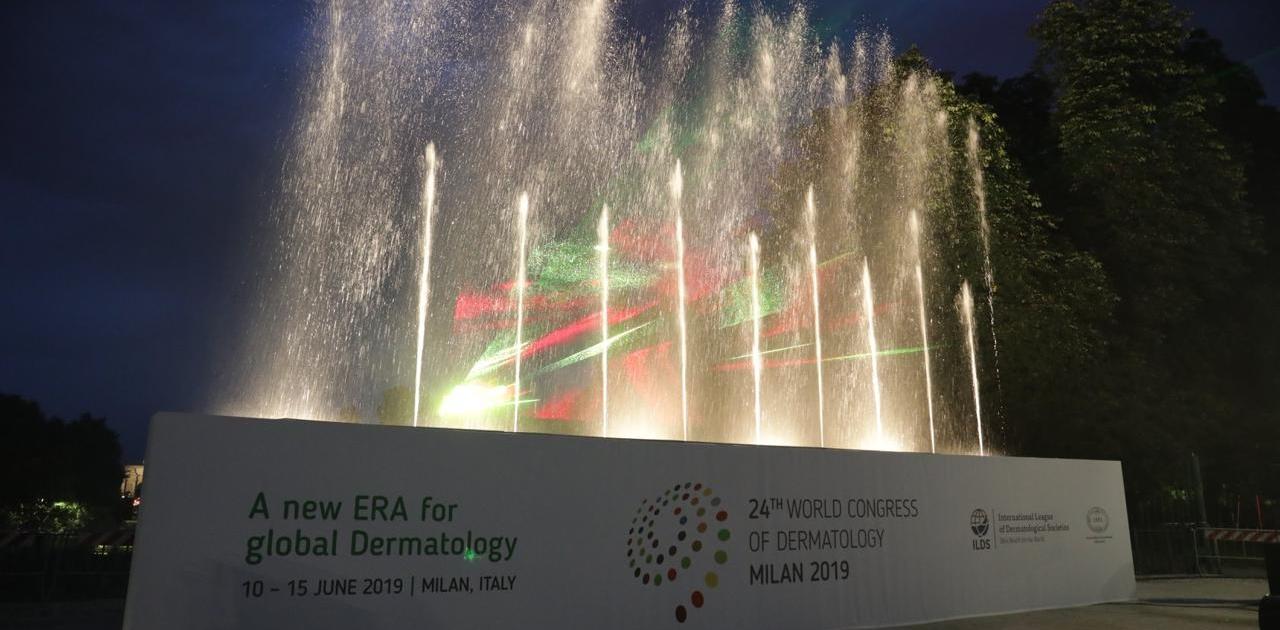 Congresso Mondiale di Dermatologia, Milano